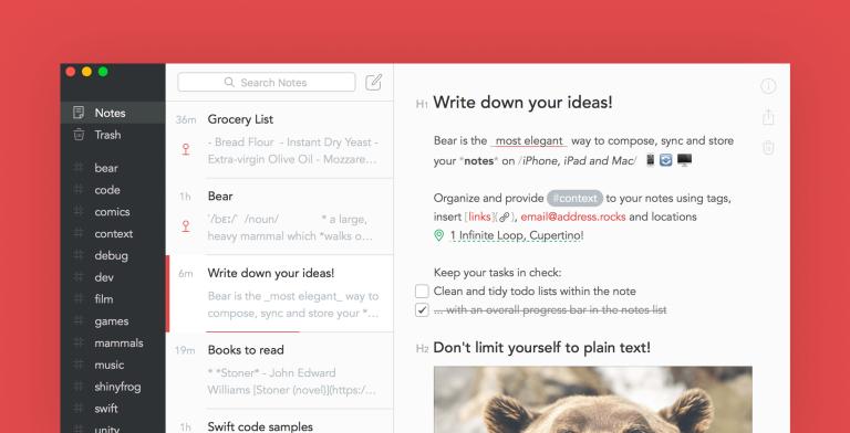bear-app-screenshot